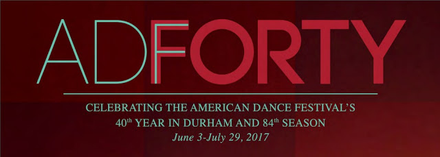 ADForty Celebrating The American Dance Festival's 40th Year in Durham