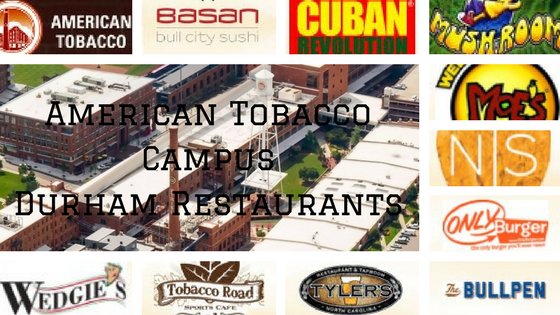 American Tobacco Campus Durham Restaurants