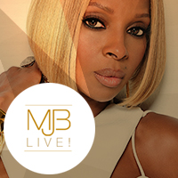 Mary J Blige - woman with blond hair