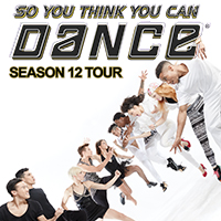 So you think you can dance Season 12 tour poster