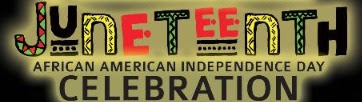 Colorful Juneteenth African American Independence Day Celebration Sign