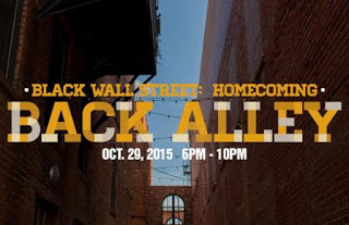 Black Wall street: Homecoming Back Alley Poster