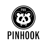 Pinhook logo with panda face