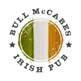 Bull McCabes Irish Pub Sign