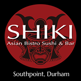 Shiki Asian Bistro Sushi & Bar Southpoint, Durham Sign