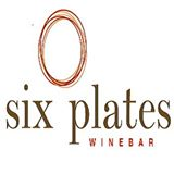 Six Plates Wine bar sign