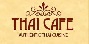 Thai Cafe Authentic Thai Cuisine Sign