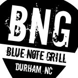 BNC Blue Note Grill Durham, NC sign