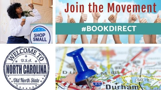 Book Direct Shop Small Durham, North Carolina
