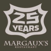 Margaux's Restaurant Logo 25 years