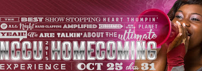 NCCU Homecoming 2015 Poster