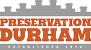 Preservation Durham established 1974 logo