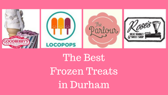 The Best Frozen Treats in Durham, Goodberry's, Locopops, The Parlour, Roses's Meat Market & Sweet Shop
